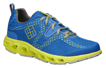 Columbia Men's Drainmaker II hyper blue/safety yellow